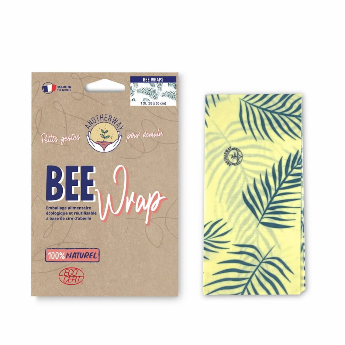 grand bee wrap feuille Anotherway