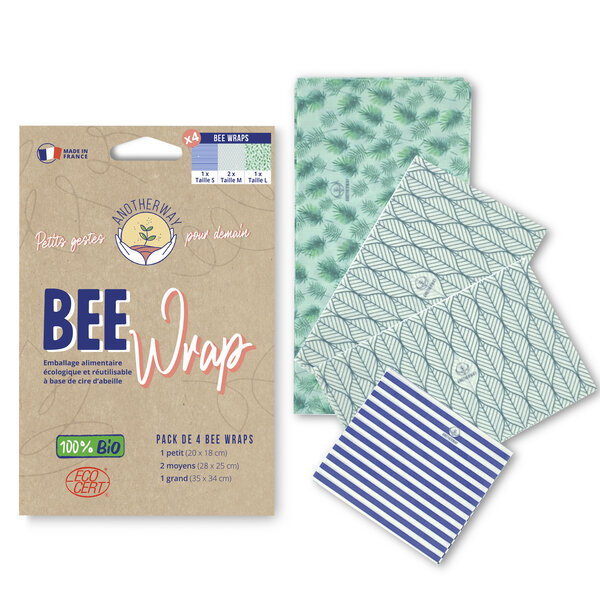 bee wraps organic French Anotherway