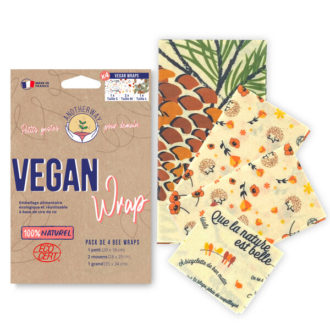 vegan wrap emballage alimentaire naturel Anotherway
