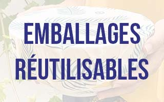 """Emballages réutilisables<span class=""""zoo-icon-down""""></span>"""